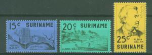 SURINAM/SURINAME 1971 MNH SC.392/94 Found.of Albina by A.Kappler