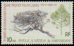 French Southern & Antarctic Territory #C59, Complete Set, 1979, Trees, Never ...