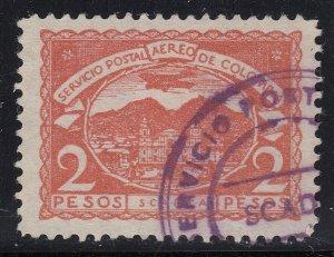 Colombia SCADTA 1921 2p Rose Used. Scott C33