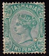 Tasmania #61, unused