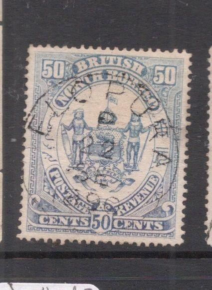 North Borneo SG 46b Elopura SON CDS VFU (3deh)