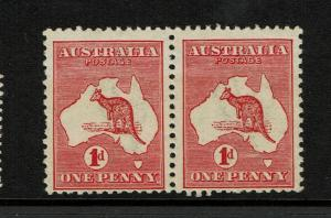 Australia SG# 2e Pair Mint Never Hinged / Die IIA - S3218
