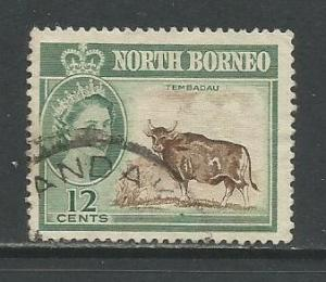 North Borneo    #285  Used  (1961)