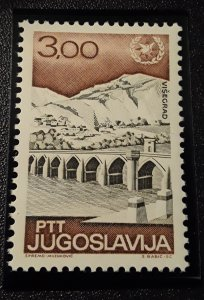 Jugoslavia Set of 6 MNH Buildings Catalog # 876-881