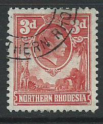 Northern Rhodesia  SG 35 VFU