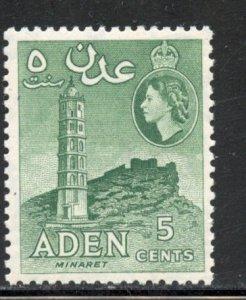 Aden # 48a, Mint Never Hinge. CV $ 2.25