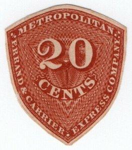 (I.B) US Local Post : Metropolitan Express 20c