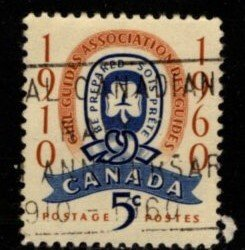 Canada - #389 Girl Guides - Used