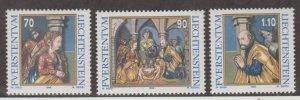 Liechtenstein Scott #1129-1130-1131 Stamps - Mint NH Set