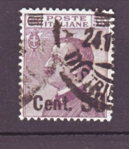 J22540 Jlstamps 1923-5 italy used #157 king ovpt