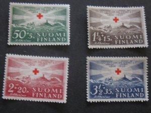 Finland #B35-B38 (Set) MLH- SCV=$16.70