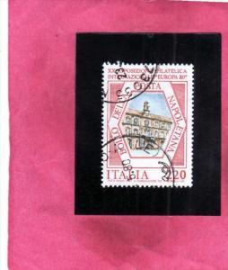 ITALIA REPUBBLICA ITALY REPUBLIC 1980 ESPOSIZIONE FILATELICA DI NAPOLI EUROPA...