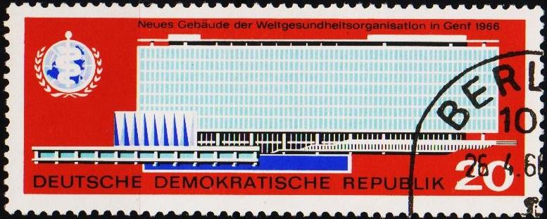 Germany(DDR). 1966 20pf S.G.E896 Fine Used