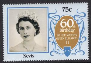 Nevis MNH 473 QE II 60th Birthday