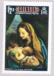 Grenada 519 MLH Christmas Painting 1973 (BP3559)