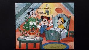Disney - Grenada Grenadines 1987. - Andersen`s fairy tale ** MNH Block/2