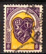 Algeria; 1947: Sc. # 214: O/Used Single Stamp