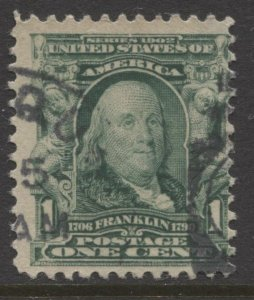 STAMP STATION PERTH USA #300 Fine Used 1902-03