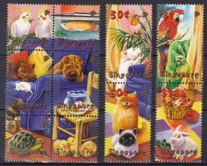 Singapore #980a-980j  MNH CV $7.40 Z97