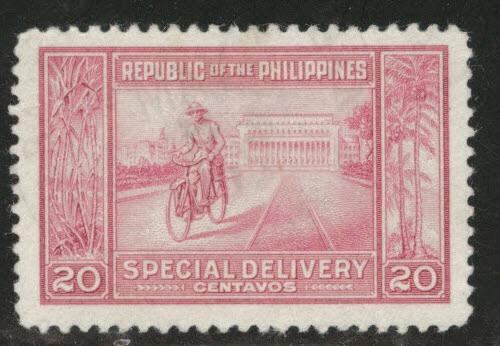 US Philippine Islands Scott E11 MH* 1947 Special Delivery