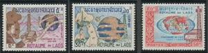 Laos 109-111 MNH (1965)
