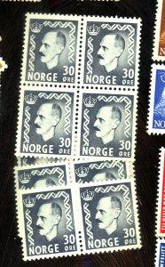 NORWAY 311 (10) MNT FVF 9OG NH Cat $100