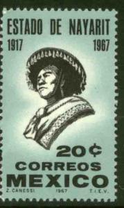 MEXICO 978, 50th Anniversary of Nayarit Statehood. MINT, NH. VF.