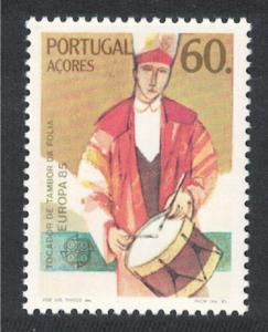 Azores Europa Music Year 1985 MNH SG#464 SC#353