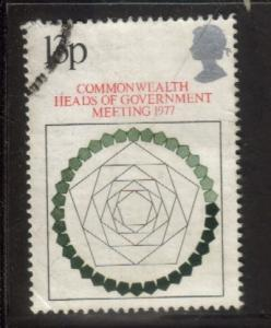Great Britain Sc 815 1977 Commonwealth Conf stamp used