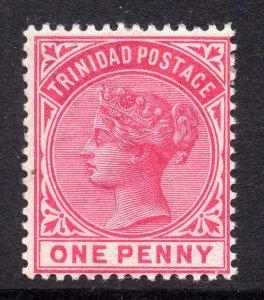 Trinidad 1883 QV 1d carmine SG 107 mint