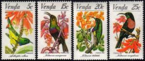 Venda - 1981 Sunbirds Set MNH** SG 38-41