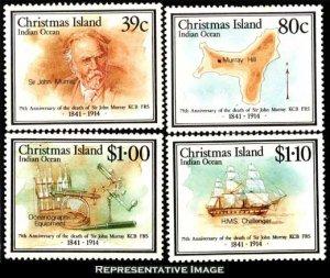 Christmas Islands Scott 230-233 Mint never hinged.