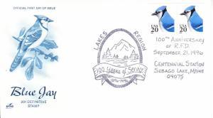 1996 Centennial RFD Sebago Lake, ME Artcraft Pictorial