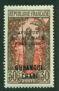 Ubangi-Shari 1925 #52 MH SCV (2018) = $0.70