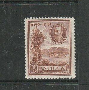 Antigua 1932 Tercentenary 1 1/2d MM SG 83