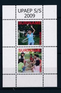 [SU1630] Suriname Surinam 2009 UPAEP Children Games Hula Hoop Souvenir Sheet MNH