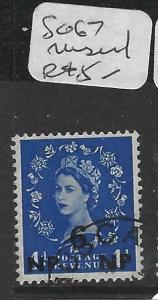 BRITISH PO IN EAST ARABIA (P0903B)  SG 67     CANCEL MUSCAT    VFU