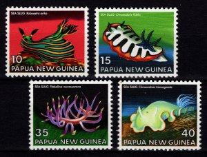 Papua New Guinea 1978 Sea Slugs, Set [Unused]
