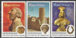 Mauritius  429-31  MNH  UNESCO