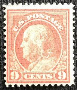 US MNH #415 Single Benjamin Franklin SCV $120.00