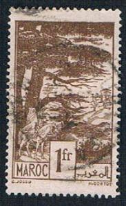 French Morocco 203 Used Cedars (BP13918)