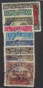NICARAGUA C154-62 USED SCV $4.05 BIN $2.00 PLACE