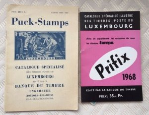 LUXEMBOURG: 1947 Puck Specialized Catalog + Prifix 1968