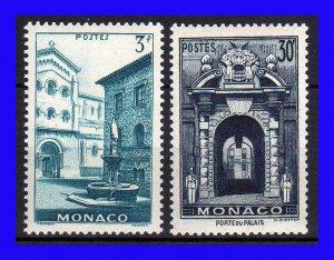 1951 - Mónaco - CS. 274-275-MNH - MO-051-03