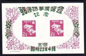 Japan 407 MNH 1948 Death of Katsushika Hokusal Painter No Gum as Issued)