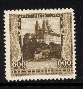 Austria 1923  Scott #B64 MLH