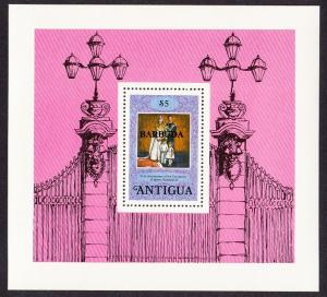 Barbuda 25th Anniversary of Coronation MS SG#MS420 SC#354
