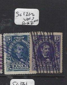 HONDURAS (P2606B) SC121-2      VFU
