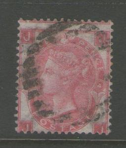GB 1865 Queen Victoria SG 92 FU