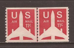 United States scott #C82 Line Pair m/nh stock #N4620